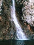 Cachoeira, parque nacional de Yellowstone Fotografia de Stock