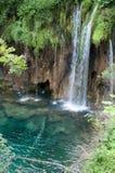 Cachoeira, parque nacional dos lagos Plitvice Fotografia de Stock Royalty Free