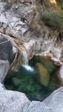 Cachoeira pequena Fotos de Stock Royalty Free