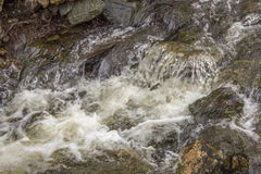 Cachoeira pequena do córrego imagem de stock royalty free
