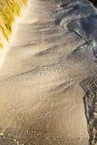 Cachoeira pequena nas pedras do branco em Denizli Fotos de Stock Royalty Free