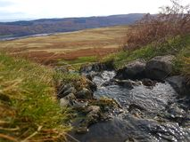 Cachoeira pequena natural Fotografia de Stock Royalty Free