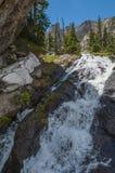 Cachoeira perto de Emerald Lake Colorado Fotos de Stock Royalty Free