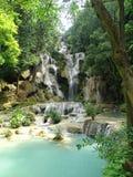 Cachoeira perto do prebang do luang Imagens de Stock