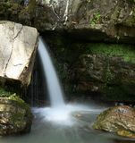 Cachoeira poderosa Imagens de Stock Royalty Free