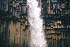 Cachoeira preta Imagem de Stock