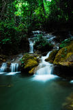 Cachoeira profunda da floresta em Kanchanaburi Foto de Stock Royalty Free