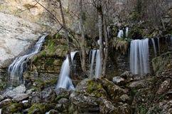 Cachoeira remota em france Fotos de Stock