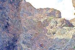 Cachoeira sazonalmente seca Fotos de Stock