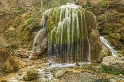Cachoeira Serebryaniye Strue Imagem de Stock Royalty Free