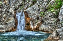 Cachoeira Sinia Vir Fotografia de Stock Royalty Free