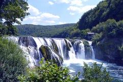 Cachoeira, Strbacki Buk Imagem de Stock Royalty Free