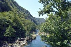 Cachoeira, Strbacki Buk Fotografia de Stock
