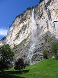 Cachoeira suíça Imagem de Stock