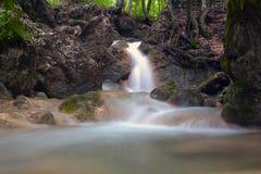 Cachoeira SU Ahande fotografia de stock