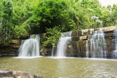Cachoeira Sunlit Imagem de Stock Royalty Free