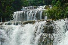 Cachoeira tropical. fotografia de stock