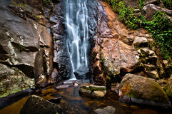 Cachoeira tropical Fotografia de Stock Royalty Free