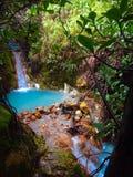 Cachoeira tropical Imagem de Stock Royalty Free
