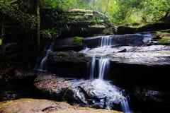 Cachoeira tropical da área no parque nacional Imagens de Stock Royalty Free