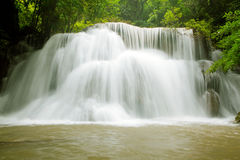 Cachoeira tropical da floresta tropical Fotos de Stock