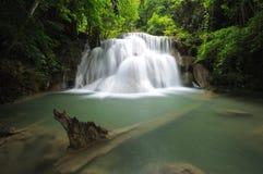 Cachoeira tropical em Tailândia Foto de Stock Royalty Free