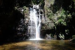 Cachoeira tun Horto - Rio de Janeiro, Brasilien Stockfotos
