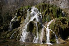 Cachoeira verde Foto de Stock