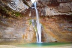 Cachoeiras da angra da vitela fotografia de stock royalty free