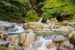 Cachoeiras da natureza Foto de Stock Royalty Free