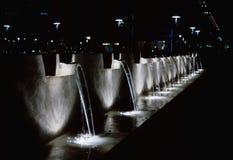 Cachoeiras da noite foto de stock royalty free