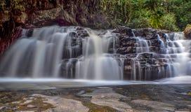 Cachoeiras das florestas úmidas Fotografia de Stock