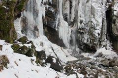 Cachoeiras de Boyana fotografia de stock royalty free