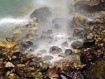 Cachoeiras de Chegem em Kabardino-Balcária, Rússia foto de stock