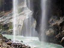 Cachoeiras de Chegem em Kabardino-Balcária, Rússia imagem de stock royalty free