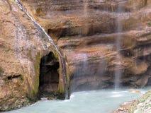 Cachoeiras de Chegem em Kabardino-Balcária, Rússia fotos de stock royalty free