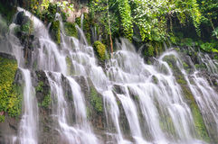 Cachoeiras de Chorros de la Calera em Juayua, El Salvador Fotos de Stock
