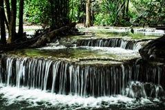 Cachoeiras de Huay-Mae-Kamin Imagem de Stock Royalty Free