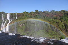 Cachoeiras de Iguassu imagens de stock royalty free