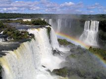 Cachoeiras 26 de Iguazu Fotos de Stock Royalty Free