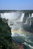 Cachoeiras de Iguazu, Brasil Fotos de Stock Royalty Free