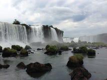 Cachoeiras de Iguazu Fotografia de Stock