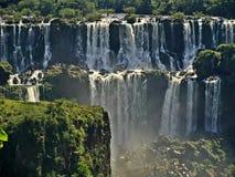 Cachoeiras de Iguazu em Argentina fotografia de stock