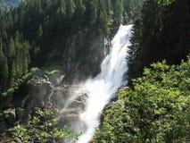 Cachoeiras de Krimml Imagem de Stock