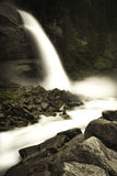 Cachoeiras de Krimml Foto de Stock