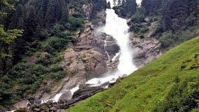 Cachoeiras de Krimmler, Áustria foto de stock