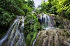 Cachoeiras 3 de Krushuna fotografia de stock