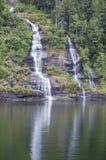 Cachoeiras de Misty Fjord #2 fotografia de stock