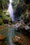Cachoeiras de Norikura, Nagano, Japão. fotografia de stock royalty free