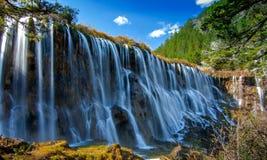 Cachoeiras de Nuorilang imagem de stock